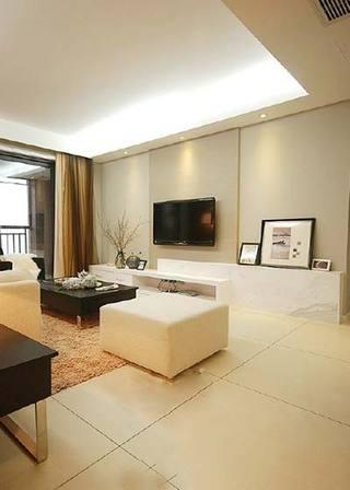 木质风格客厅背景图