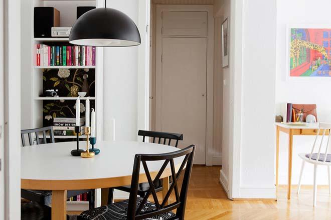 单身公寓餐厅设计图