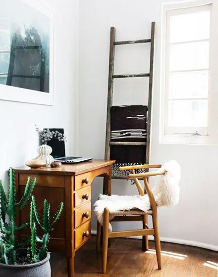 55平小公寓开放式书房装修