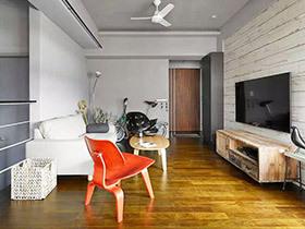 99平小复式装修图 旧家具打造低成本时尚家