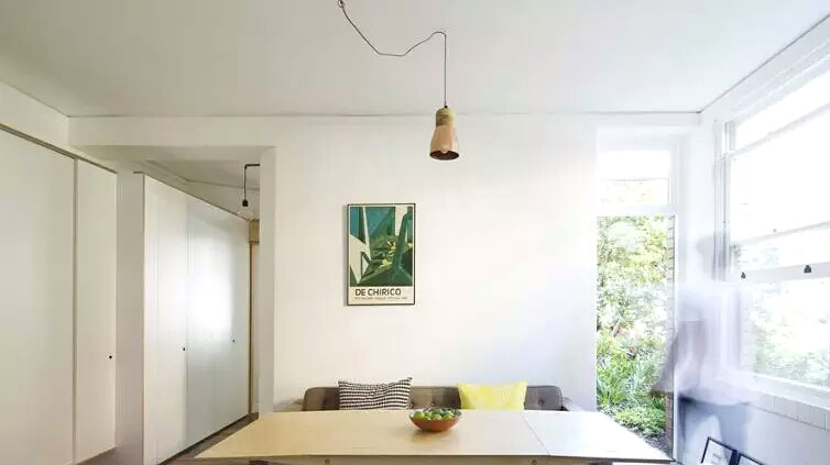 42平小公寓餐厅吊灯装修