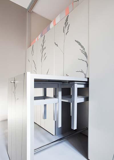 8平米单身公寓多功能图