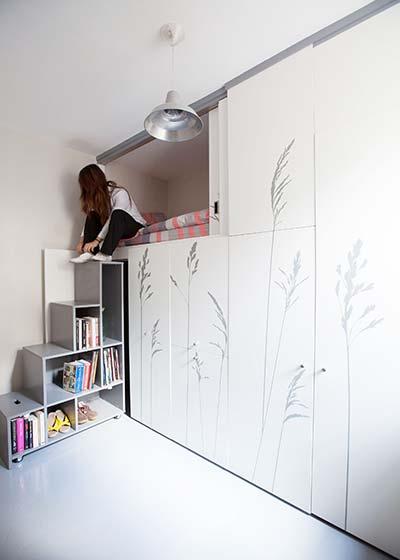 8平米单身公寓收纳图