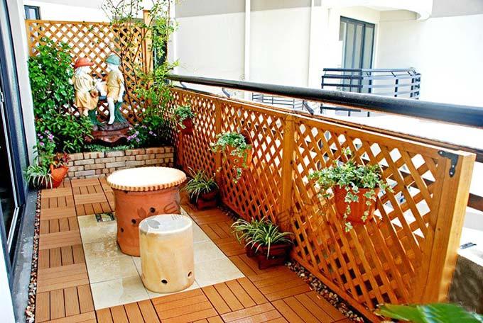 花园阳台花架设计图片大全