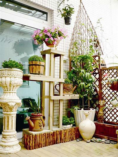 微景观阳台装构造图片
