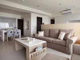 单纯二居室 132平北欧风格装修