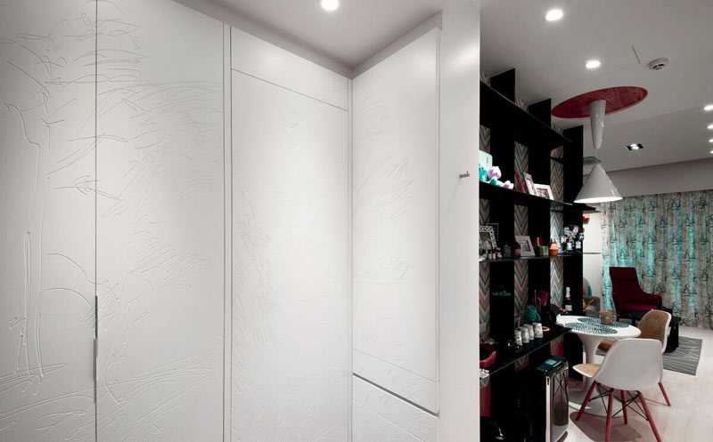48平米超小户型一居室婚房设计
