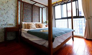 东南亚新古典风格 卧室装饰效果图