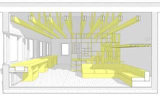 客厅里面设计立面图