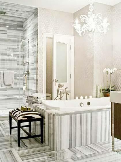 一居室浴室装修效果图