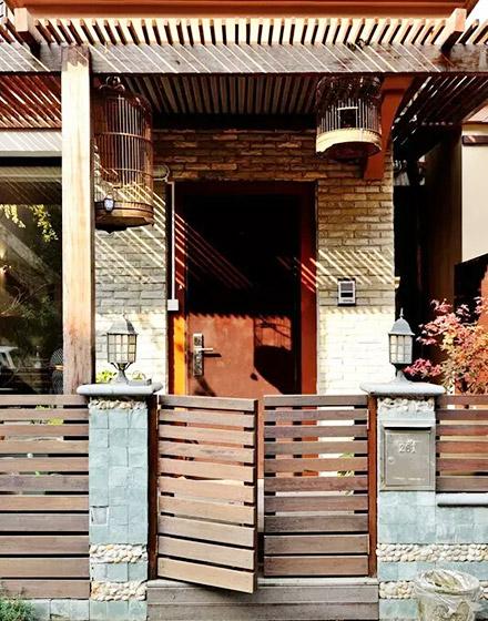 80平小户型庭院装修效果图