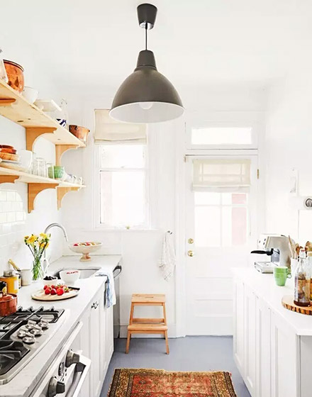 明亮小户型厨房装修装潢