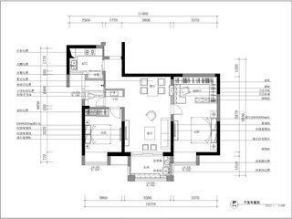 93平轻舞飞扬房子装修设计图