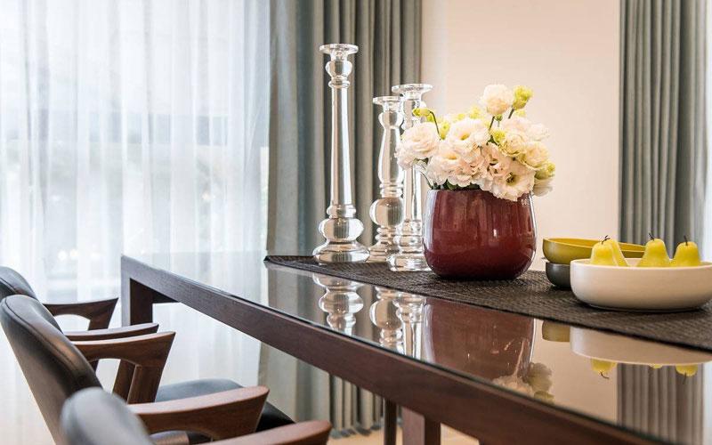 90平现代简约风格餐桌装修