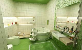卫生间设计布置图