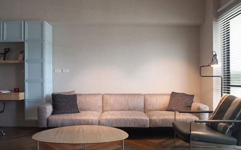 舒适简约风客厅沙发效果图