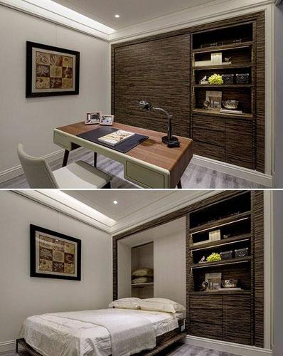100平混搭风格卧室装修效果图