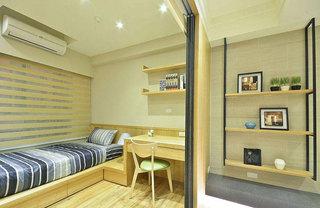 50平日式二居卧室装修效果图