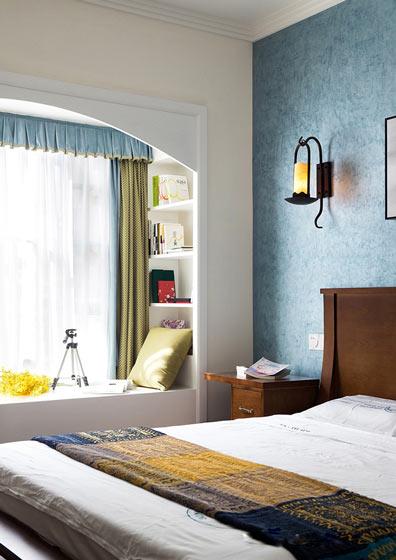 140㎡新中式卧室装修图片