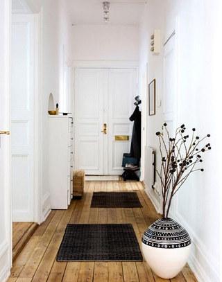 清爽北欧风格门厅装修设计