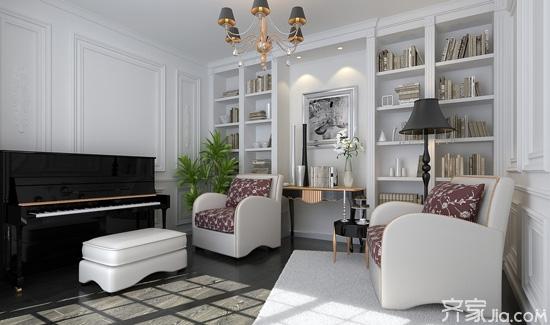 一,书房装修要点之整体风格设计