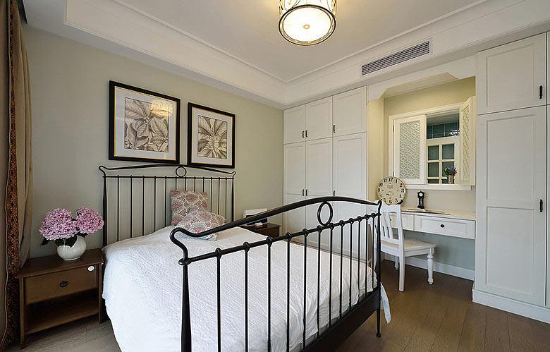 198平美式风格卧室设计效果图