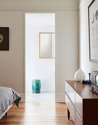 75平两居室卧室电视柜图片