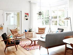 92平两居室装修效果图 明媚阳光的盛典