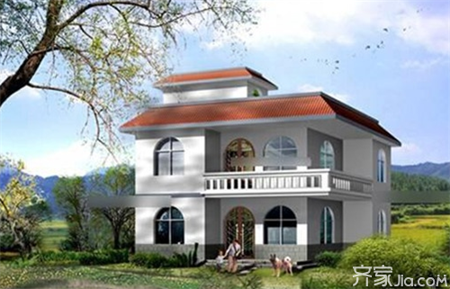 农村盖房子设计大全 欧式别墅风格欣赏图片