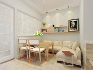 舒适宜家日式客厅装修效果图