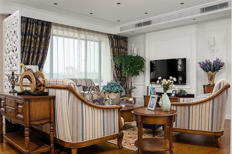 古典欧式田园风 客厅沙发效果图