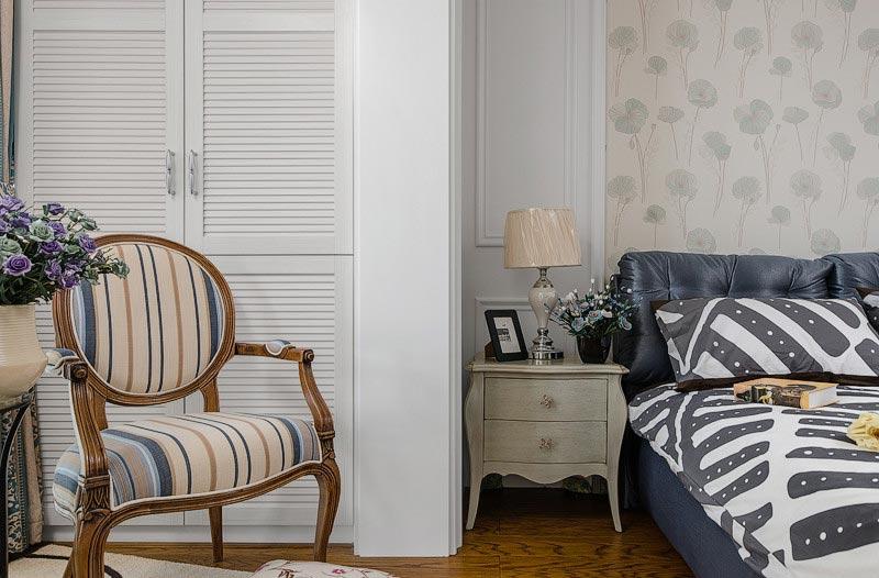 158平欧式古典风格卧室装饰设计