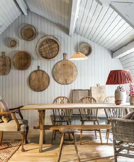 阁楼卧室餐厅设计实景图