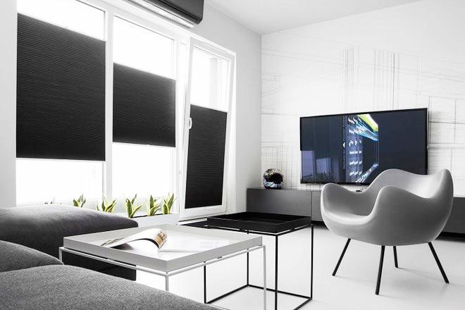 极简后现代客厅装饰效果图