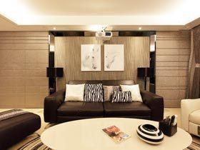 129㎡现代简约风格装修 温馨舒适空间