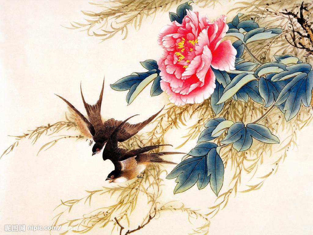 如何欣赏国画,国画技法,国画写意竹子画法_齐家网