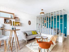 25平米小户型装修 巴黎北欧明亮清新宅