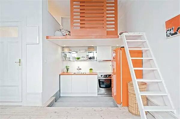 现代简约小户型loft公寓装修