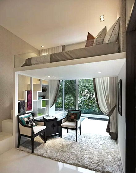 大气小户型loft装修公寓设计