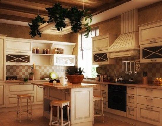 乡村系大厨房装修 10个西式传统厨房样式