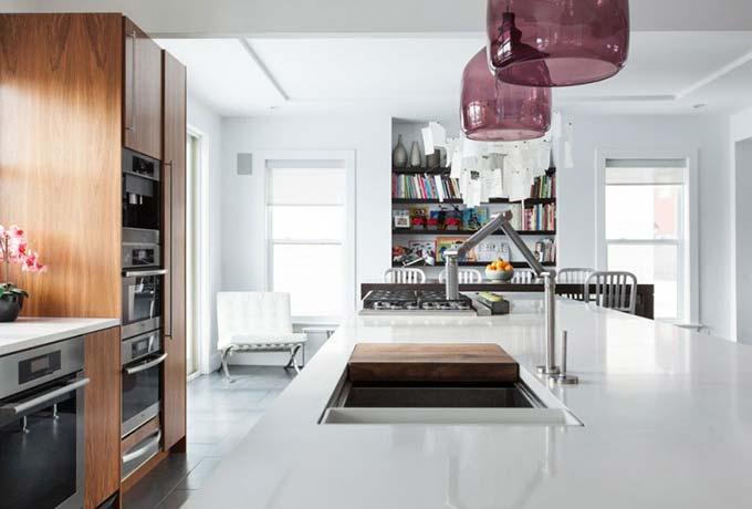 现代厨房装修效果图片