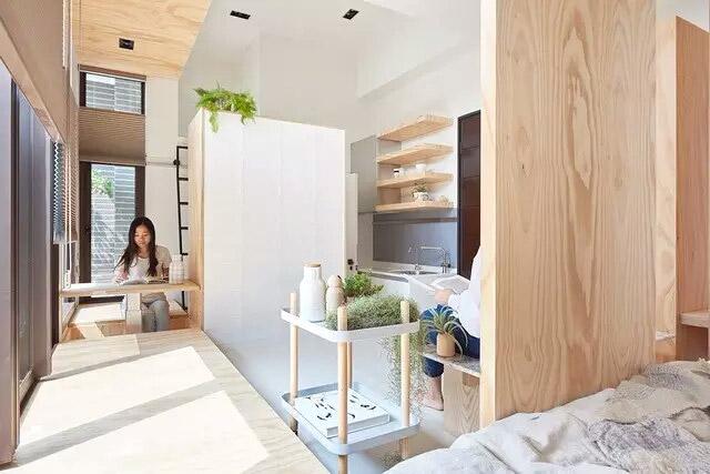 10平米超小户型公寓装修效果图