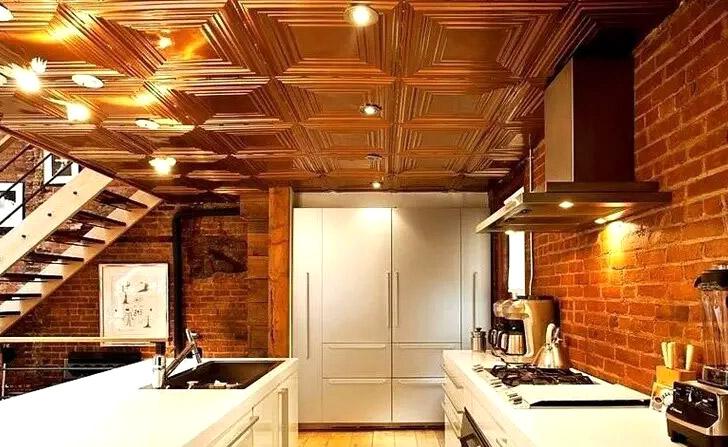 小户型开放式厨房吊顶