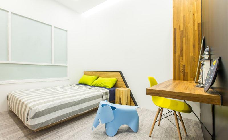 90平米现代简约简洁儿童房装修图