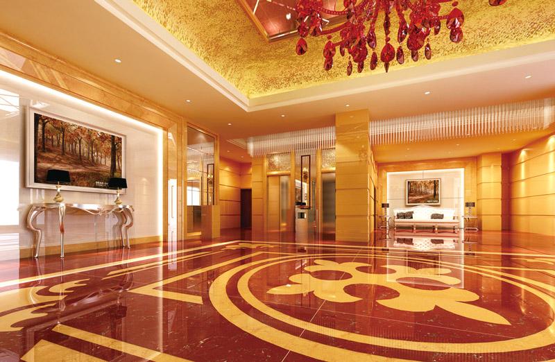 大气酒店大厅装修设计图片