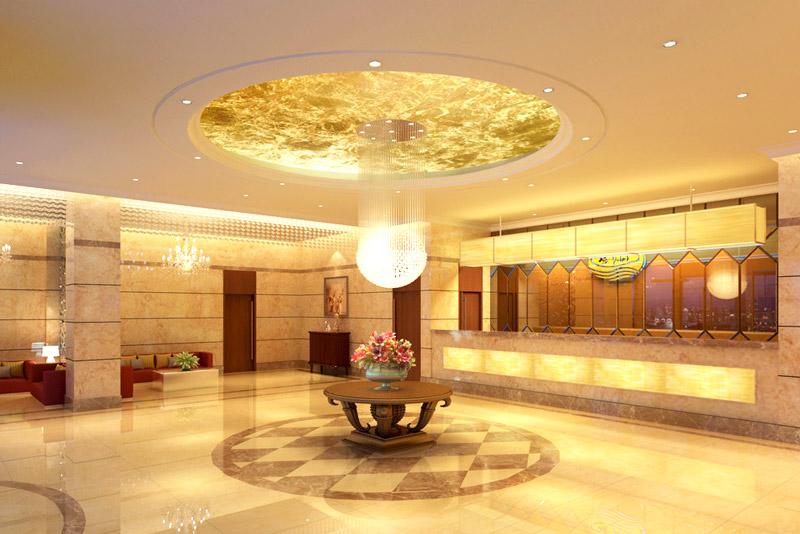 豪华酒店大厅装修设计图