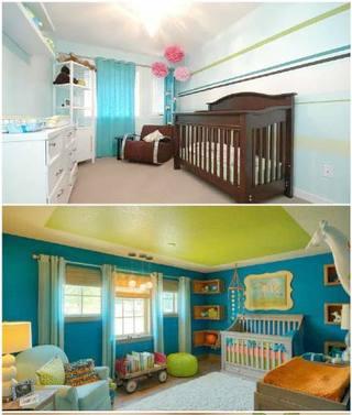 婴儿房装修装饰效果图