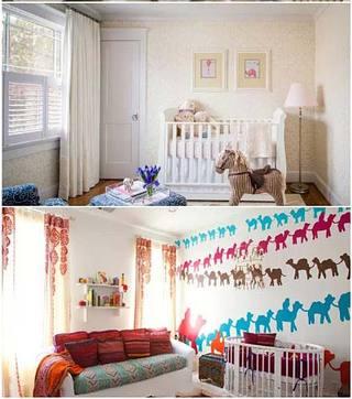 婴儿房设计实景效果图