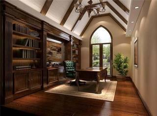书房布置设计摆放图