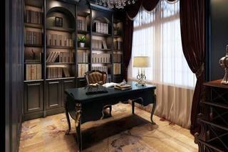 复古书房设计布置图